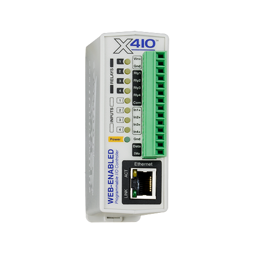 X-410-I  Web Enabled Controller & Server
