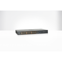 cnMatrix EX2028, Intelligent Ethernet Switch, 24 1G and 4 SFP+ fiber ports - AUS/NZ pwr cord