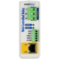 WEB Relay™ Single Relay & Input Module - Input 4-26vdc - PS POE/9-28vdc